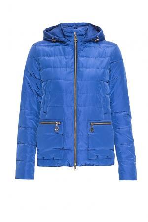 Куртка с капюшоном 164449 Fine Baby Cat. Цвет: синий