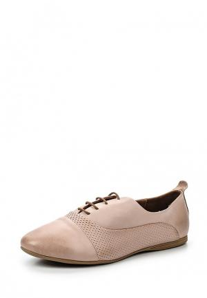 Ботинки D.Moro. Цвет: розовый