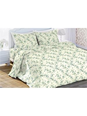 Комплект постельного белья 1,5 бязь Пробуждение Любимый Дом. Цвет: бежевый