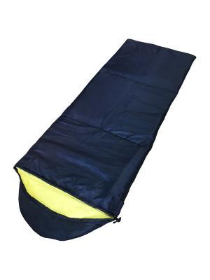 Мешок спальный helppo 300w Campland. Цвет: синий, желтый