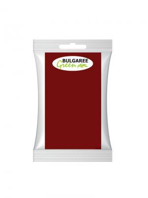 Одноразовая бумажная скатерть, 20х180 см Bulgaree Green. Цвет: бордовый