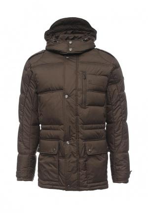 Куртка утепленная Grishko. Цвет: хаки