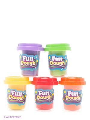 Набор пластилина Номер 5 Toy Target. Цвет: зеленый, красный
