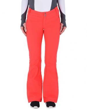Повседневные брюки COLUMBIA. Цвет: коралловый