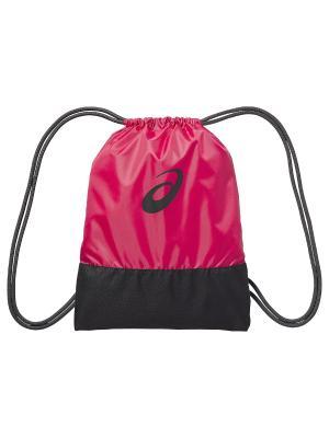 Мешок для обуви TR CORE GYM SACK ASICS. Цвет: розовый, серый