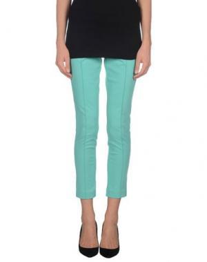 Повседневные брюки EAN 13. Цвет: светло-зеленый