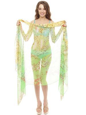 Парео женское Auri. Цвет: зеленый, фиолетовый