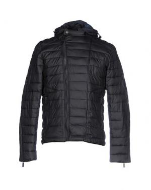 Куртка SSEINSE. Цвет: темно-синий