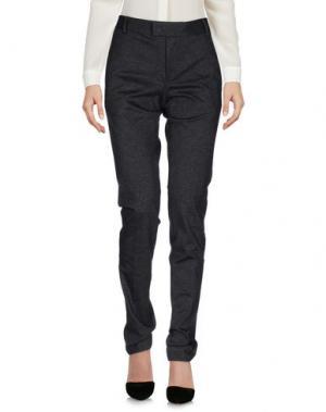 Повседневные брюки TONELLO. Цвет: стальной серый