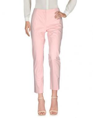 Повседневные брюки FABERGE&ROCHES. Цвет: светло-розовый