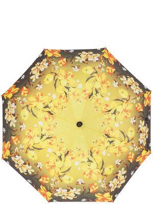 Зонт Labbra. Цвет: антрацитовый, желтый, оранжевый