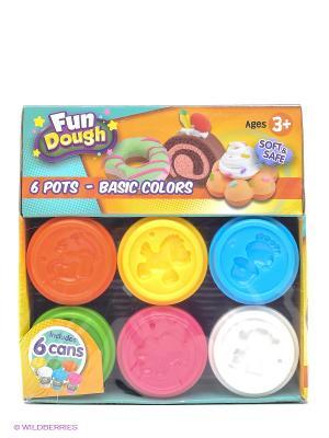 Набор пластилина Номер 6 Toy Target. Цвет: желтый