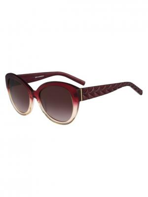 Солнцезащитные очки Karl Lagerfeld. Цвет: фиолетовый