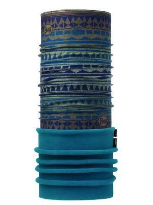Бандана POLAR TRIBAL BLANQUET MULTI Buff. Цвет: бирюзовый, коричневый