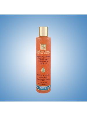 Скраб для лица Health & Beauty с Алое Вера, маслом Облепихи и витамином Е 250мл. Цвет: рыжий