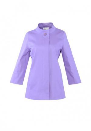 Куртка Петербургский стиль. Цвет: фиолетовый