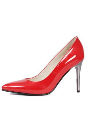 Туфли Marko. Цвет: красный