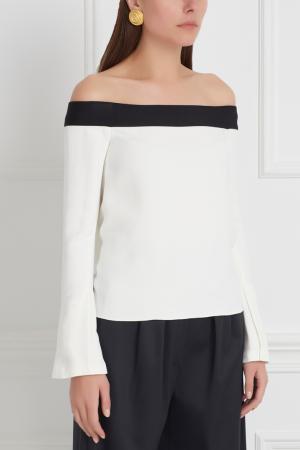 Блузка Heaney Roland Mouret. Цвет: белый