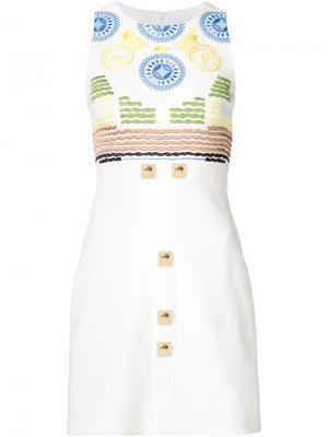 Платье Iro Peter Pilotto. Цвет: белый