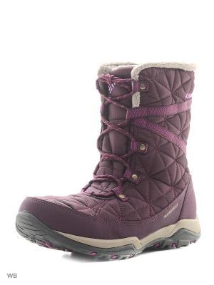 Ботинки Columbia. Цвет: фиолетовый
