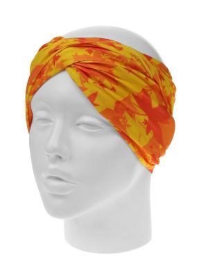 Повязка на голову Infiniti. Цвет: желтый, оранжевый