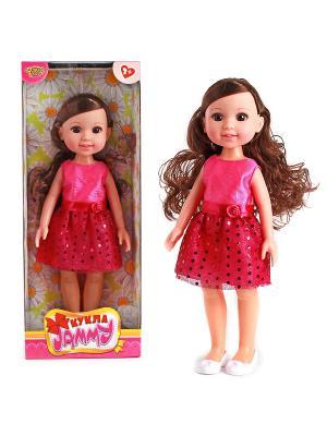 Кукла 31 см VELD-CO. Цвет: малиновый, красный