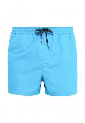 Шорты для плавания Jack & Jones. Цвет: голубой