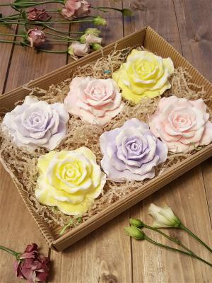 Мыло сувенирное Набор большой V.I.P.A. Цвет: сиреневый, бледно-розовый, светло-желтый