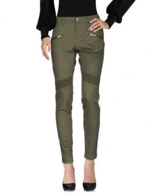 Повседневные брюки SPYDER. Цвет: зеленый-милитари