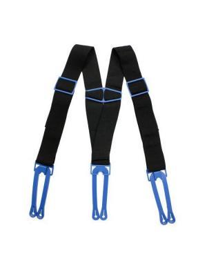 Подтяжки для шорт MAD GUY YTH. Цвет: черный