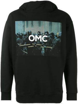 Printed hoodie Omc. Цвет: чёрный