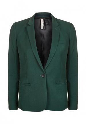 Пиджак Topshop. Цвет: зеленый