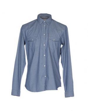 Pубашка MANUEL RITZ. Цвет: синий