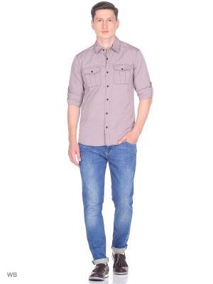 Рубашка Colin's. Цвет: бледно-розовый