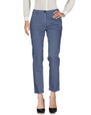 Повседневные брюки FRED PERRY. Цвет: серый