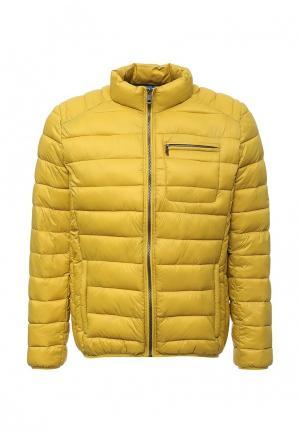 Куртка утепленная Cerruti 1881. Цвет: желтый