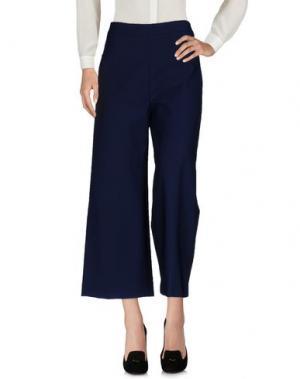 Повседневные брюки NONYME. Цвет: темно-синий