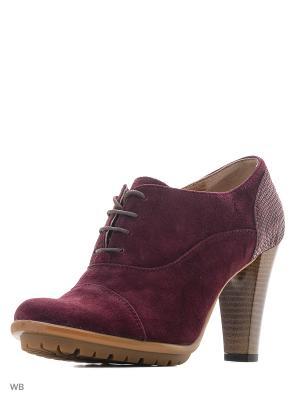 Туфли ARTY. Цвет: бордовый