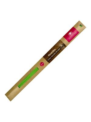 Cristalinas Natural Wood Палочки ротанговые зеленые 7 шт. Цвет: прозрачный