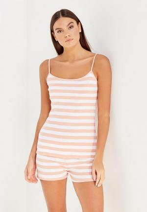 Пижама Твое. Цвет: оранжевый