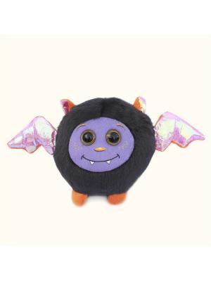 Мягкая игрушка Шарик Монстрик Malvina. Цвет: белый, черный, фиолетовый, красный