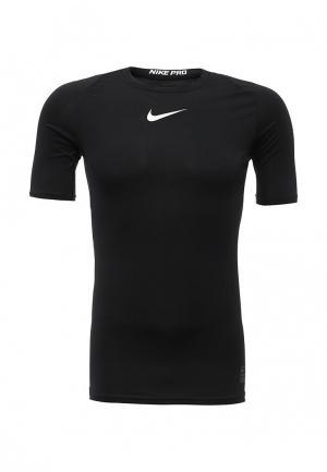 Футболка компрессионная Nike. Цвет: черный
