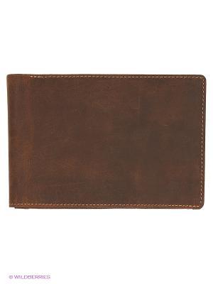 Бумажник 726 Visconti. Цвет: рыжий