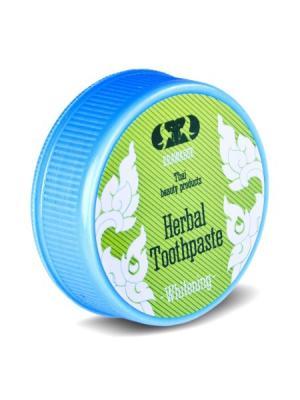 Зубная паста отбеливающая Erawadee. Цвет: белый