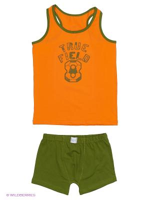 Комплект Sevim kids. Цвет: оранжевый, зеленый