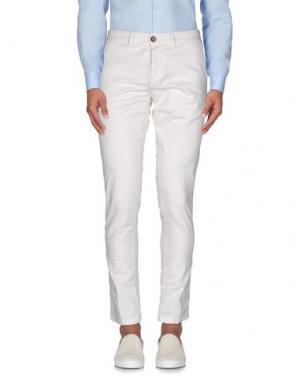 Повседневные брюки BASICON. Цвет: белый