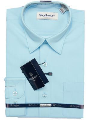 Рубашка Sky Lake. Цвет: синий