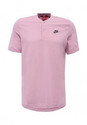 Поло Nike. Цвет: розовый