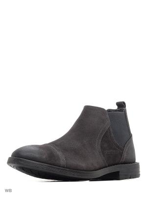 Ботинки Strellson. Цвет: серый