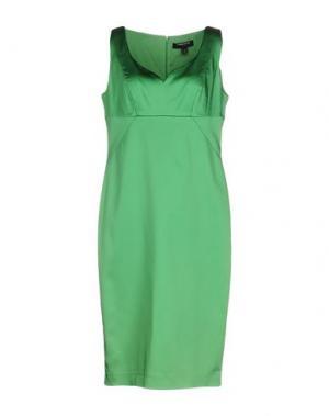 Платье до колена CHIARA D'ESTE. Цвет: зеленый